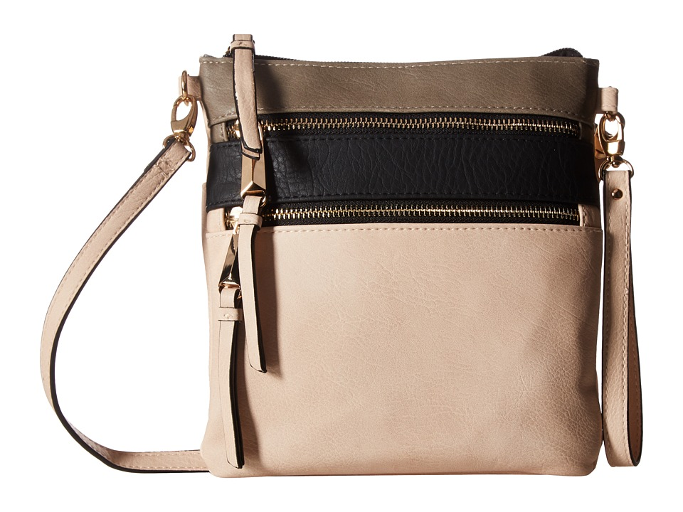 Jessica Simpson - Coline North/South Top Zip Crossbody (Blush) Cross Body Handbags
