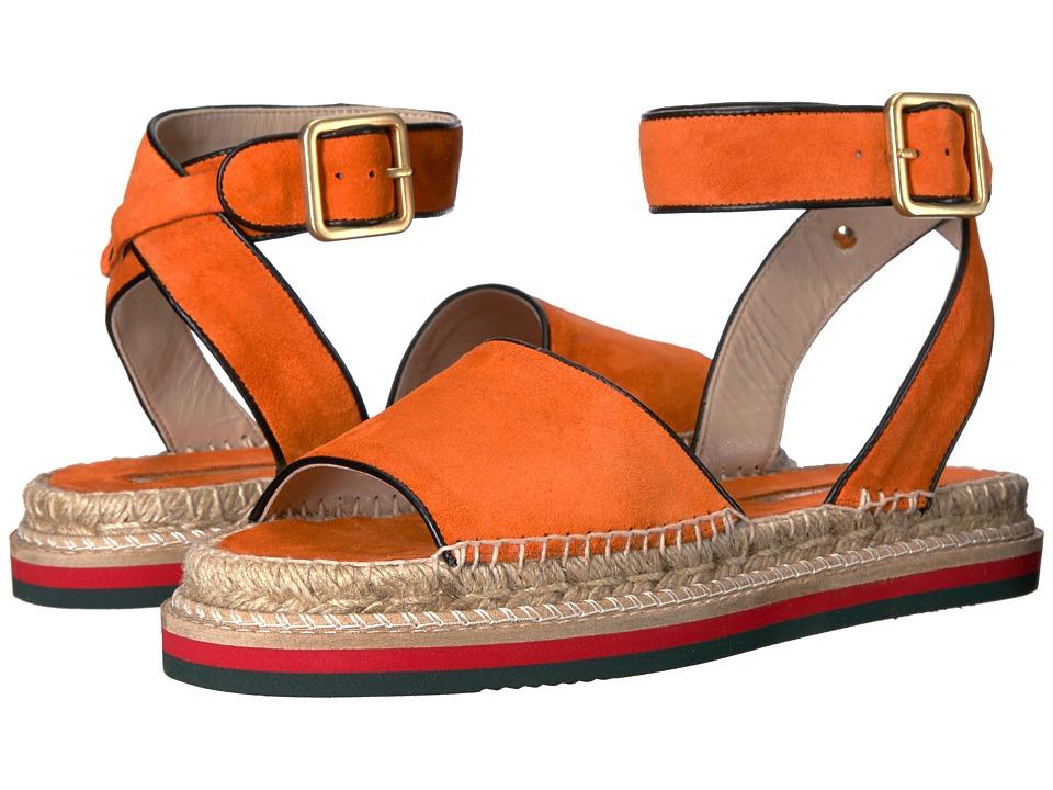 Andre Assous - Estrella (Arancio/Black Suede) Women's Sandals