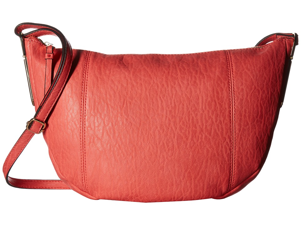 Jessica Simpson - Ryanne Top Zip Crossbody (Spiced Coral) Cross Body Handbags