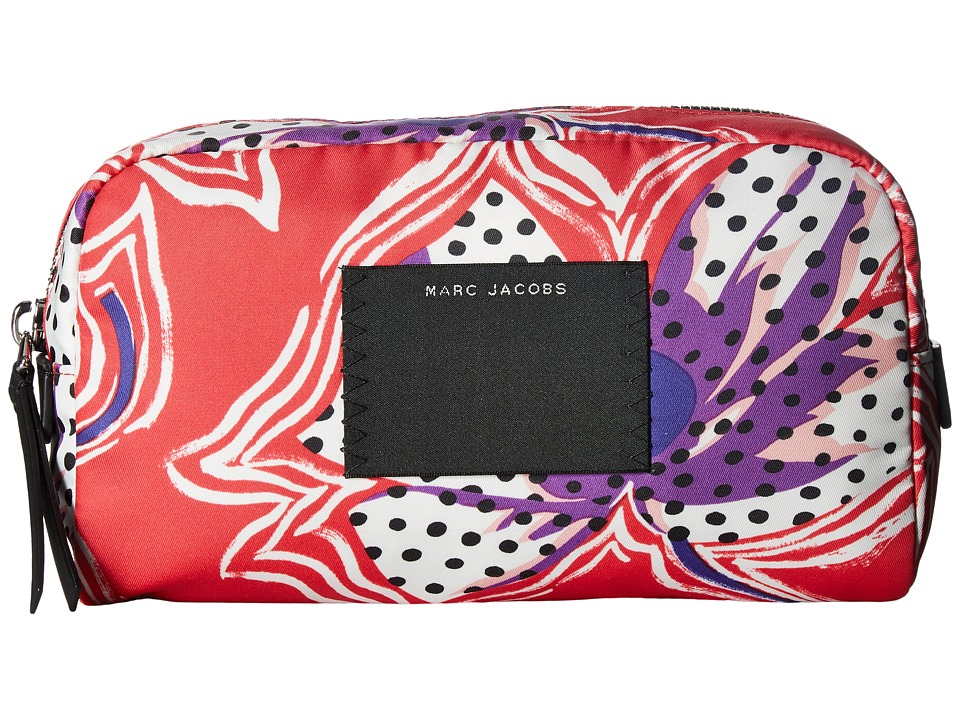 Marc Jacobs - BYOT Spotted Lily Large Cosmetic (Red Multi) Cosmetic Case