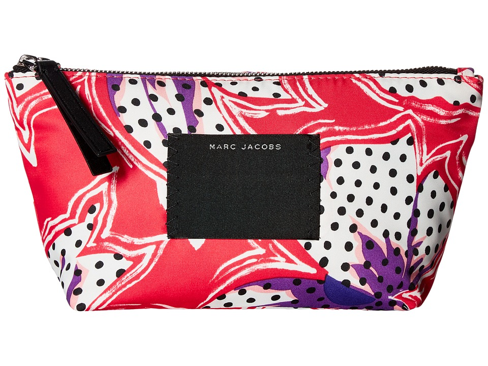 Marc Jacobs - BYOT Spotted Lily Trapezoid (Red Multi) Handbags