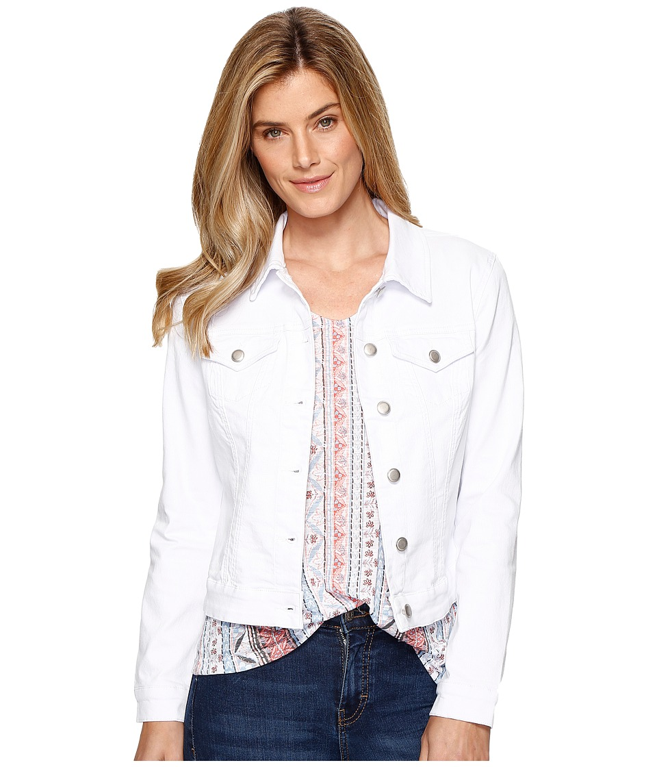 Tribal - Dream Jeans Jacket (White) Women's Coat