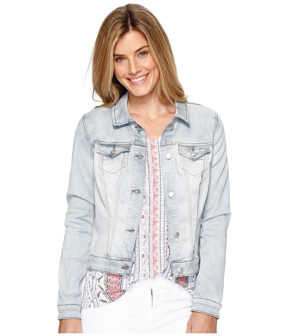 Tribal - Dream Jeans Jacket (Bleach Wash) Women's Coat