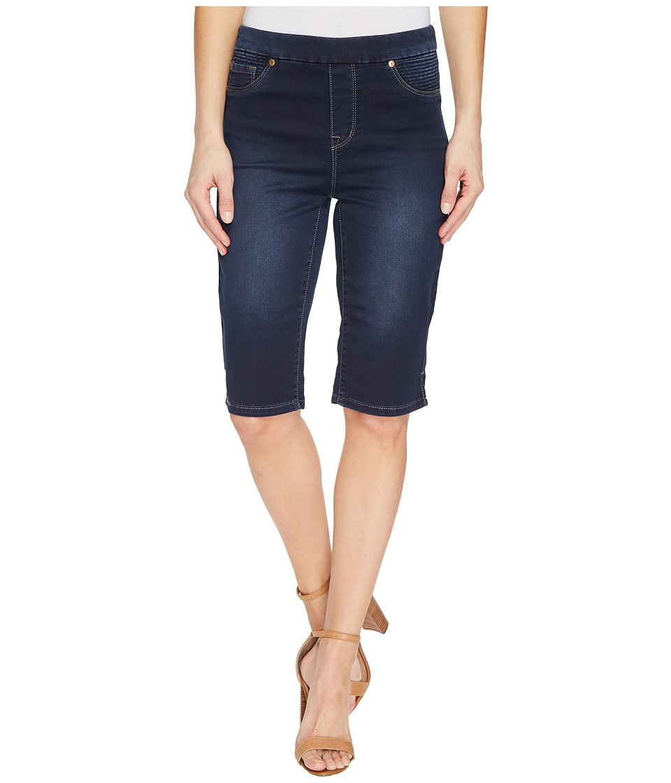 Tribal - Pull-On 13 Bermuda Dream Jeans in Navy Blast (Navy Blast) Women's Shorts