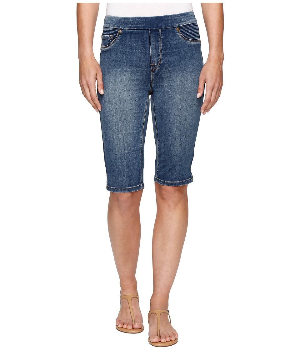 Tribal - Pull-On 13 Bermuda Dream Short in Retro Blue (Retro Blue) Women's Shorts