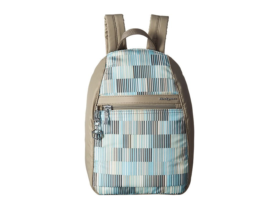Hedgren - Inner City Vogue Backpack RFID (Glitch Print) Backpack Bags