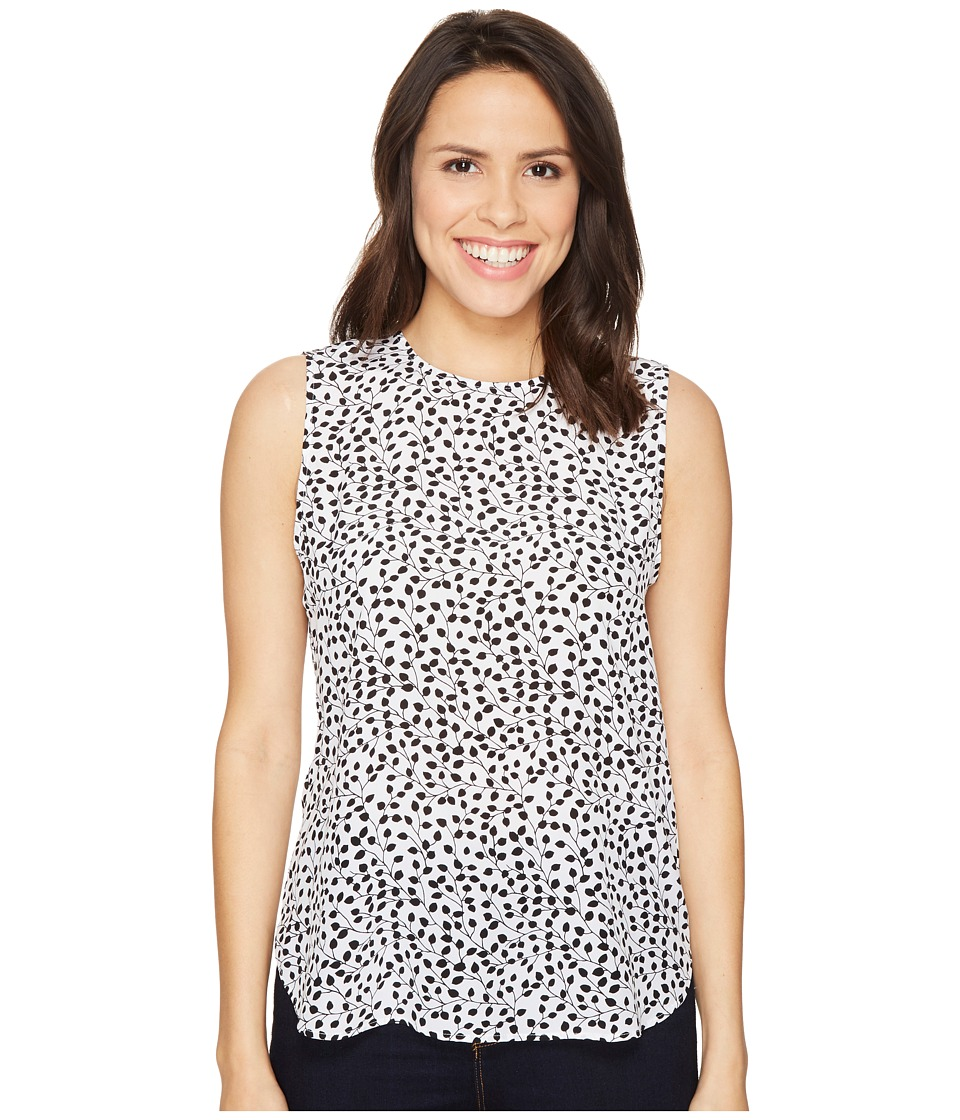 EQUIPMENT - Lyle (Bright White/True Black) Women's Blouse