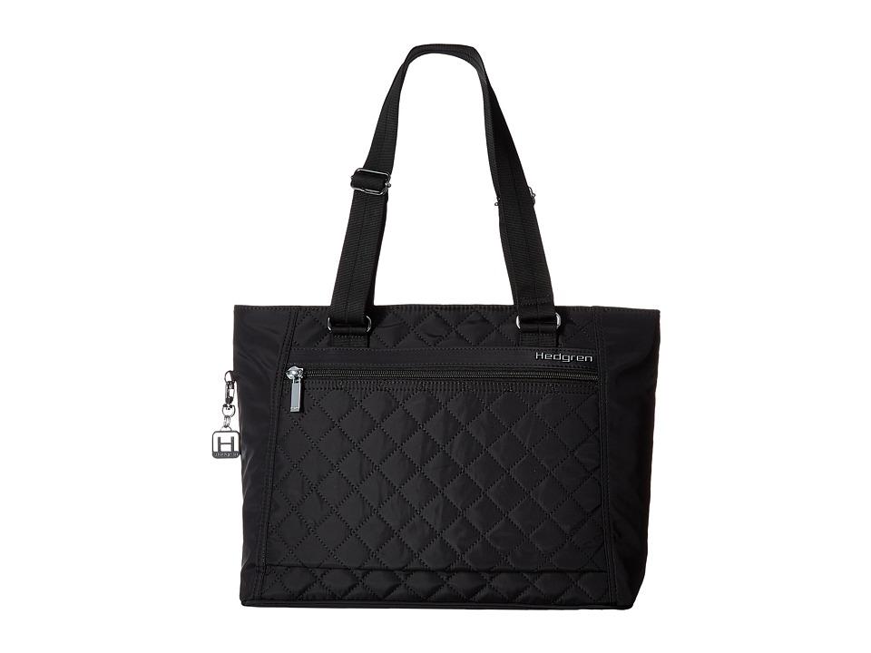 Hedgren - Diamond Stella Tote (Black) Tote Handbags