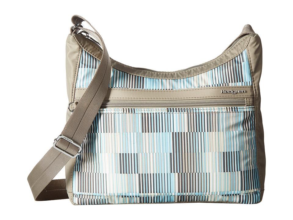 Hedgren - Inner City Harper's Small Shoulder Bag RFID (Glitch Print) Shoulder Handbags