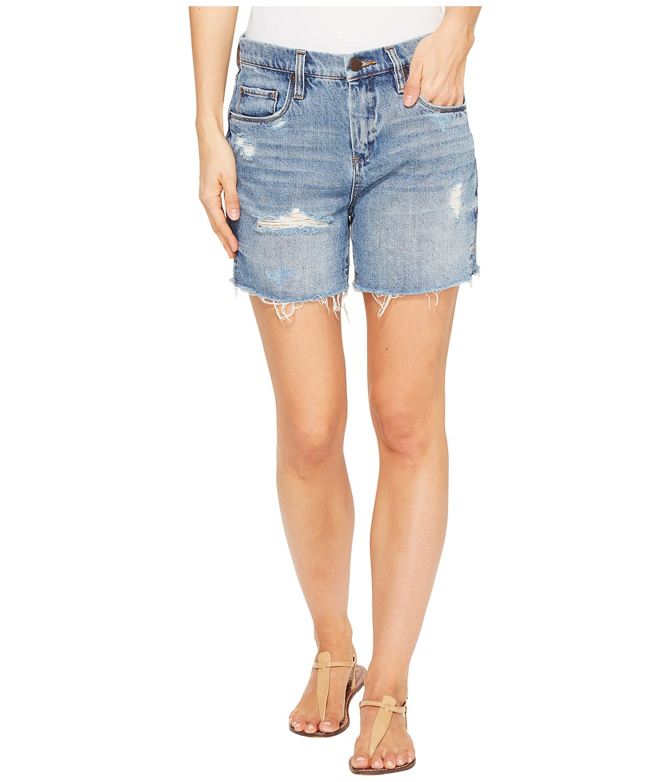 Blank NYC - Denim Destructed Mom Shorts in Ms. Throwback (Ms. Throwback) Women's Shorts