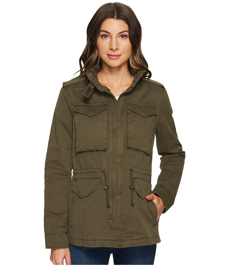 Tommy Hilfiger - Four-Pocket Zip Front Anorak (Army Green) Women