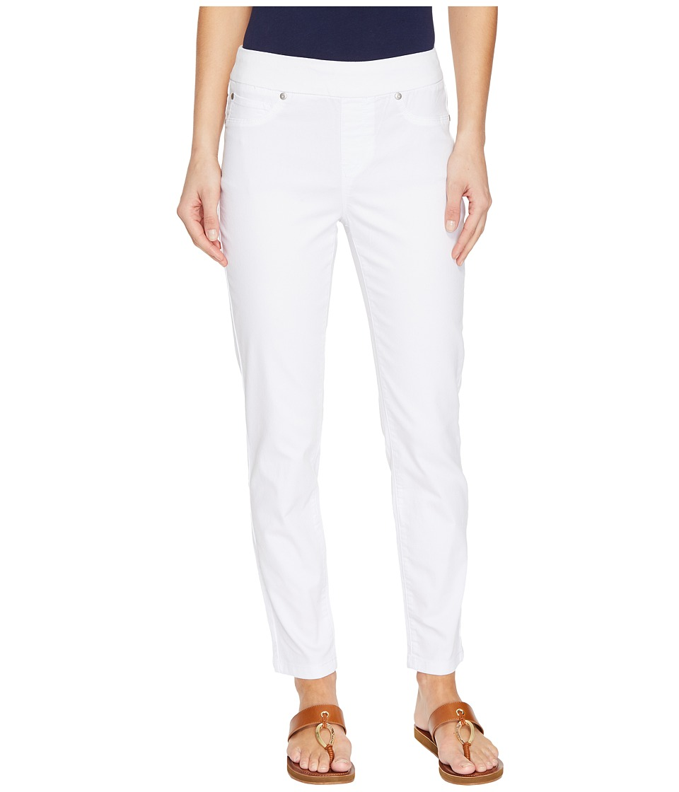 Tribal - Pull-On Ankle 28 Dream Jeans in White (White) Women's Jeans
