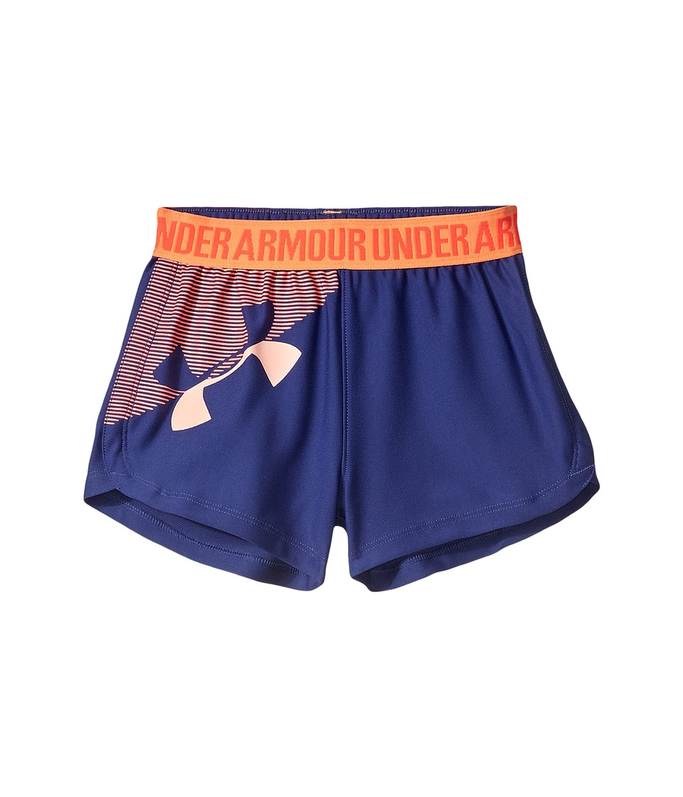 Under Armour Kids - UA Play Up Shorts (Toddler) (Deep Periwinkle) Girl's Shorts