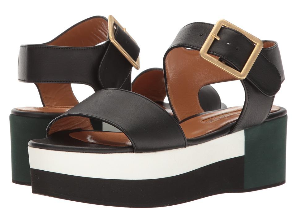Andre Assous - Paz (Black Nappa Leather/Multi EVA) Women's Sandals