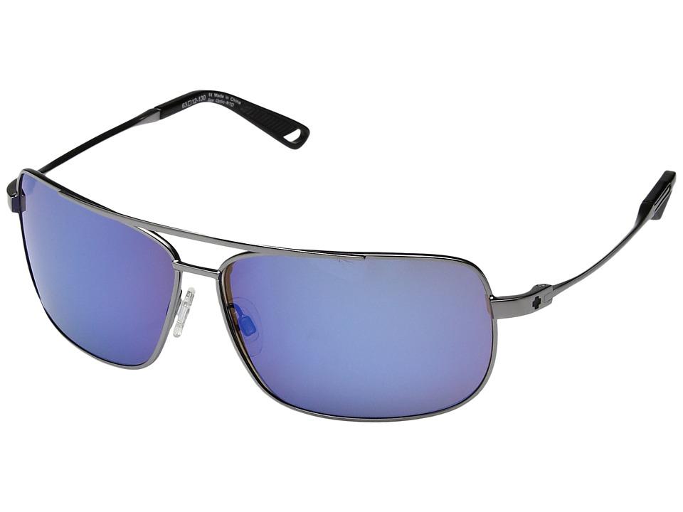 Spy Optic - Leo (Gunmetal/Happy Bronze/Blue Spectra) Sport Sunglasses