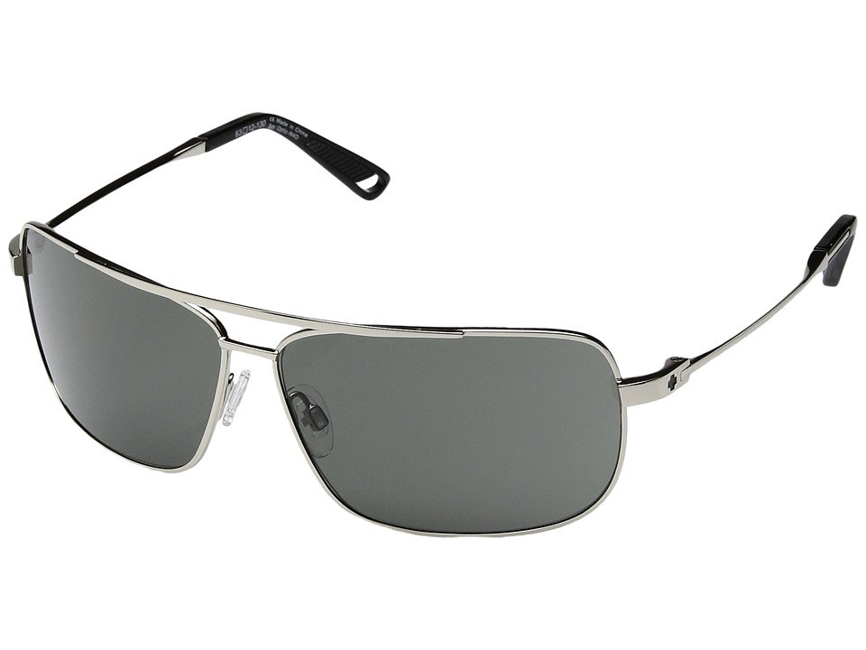 Spy Optic - Leo (Silver/Happy Gray Green) Sport Sunglasses