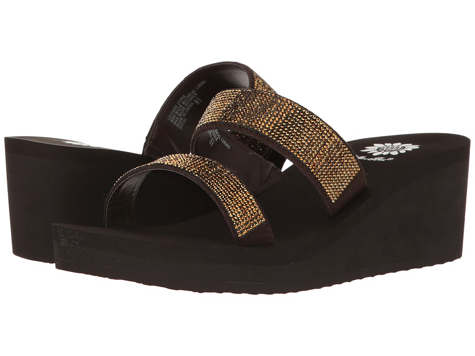 Yellow Box - Royal (Bronze) Women's Dress Sandals