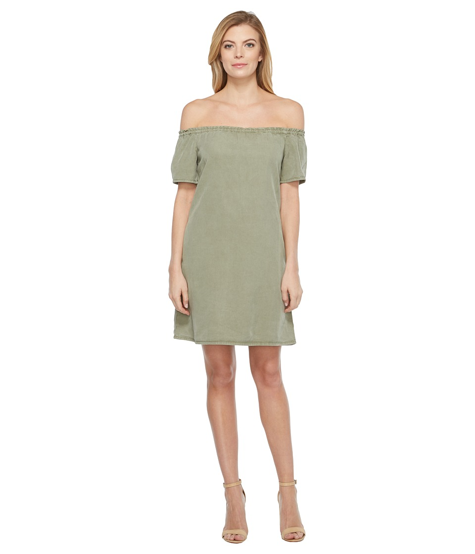 AG Adriano Goldschmied - Harley Tent Dress (Sulfer Harvest Olive) Women's Dress
