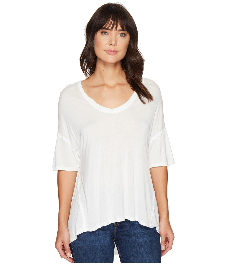 Project Social T Zoe Tee (White Garment Wash) Women