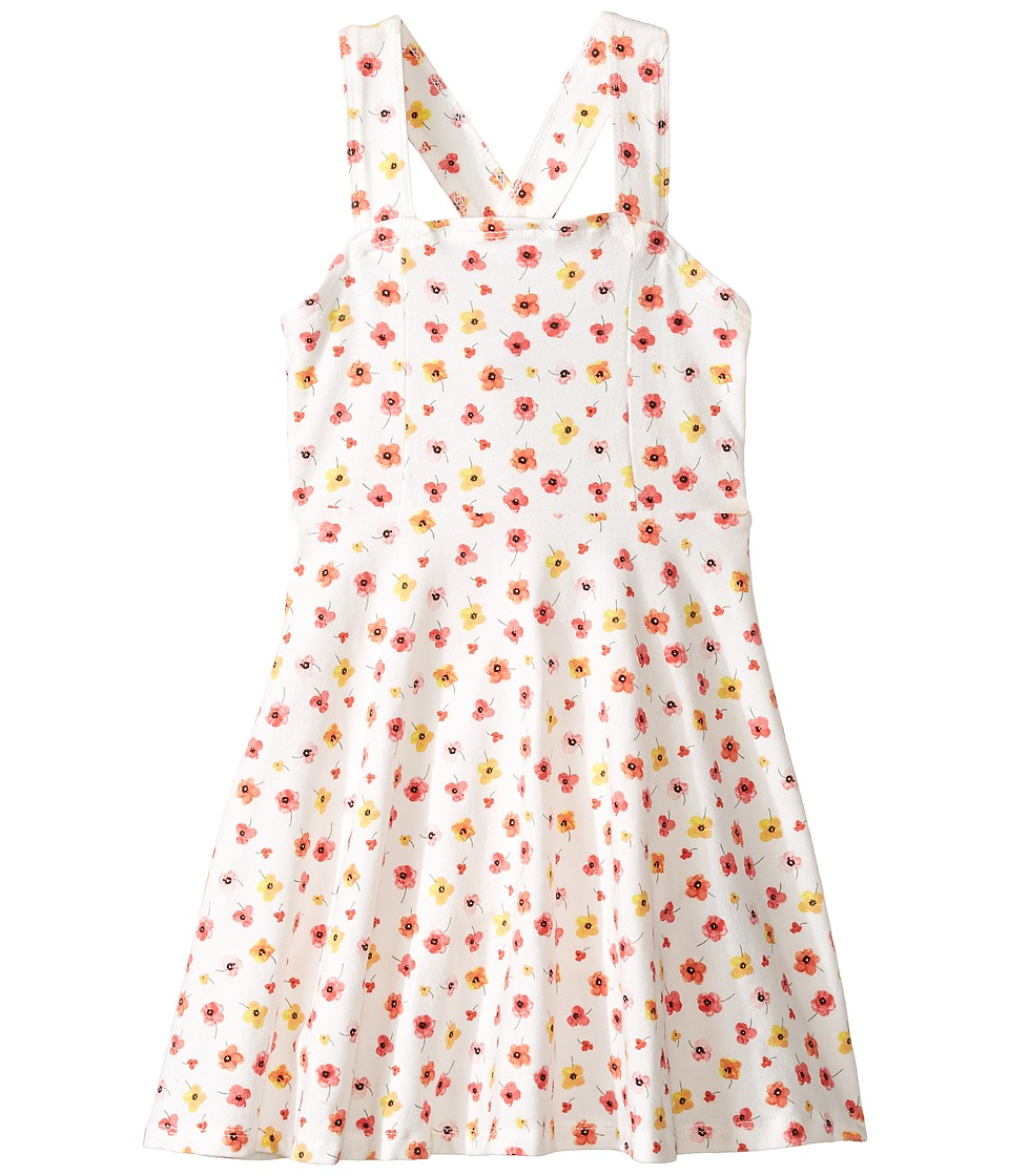 Toobydoo - Floral Skater Dress (Toddler/Little Kids/Big Kids) (Floral Pattern) Girl's Dress