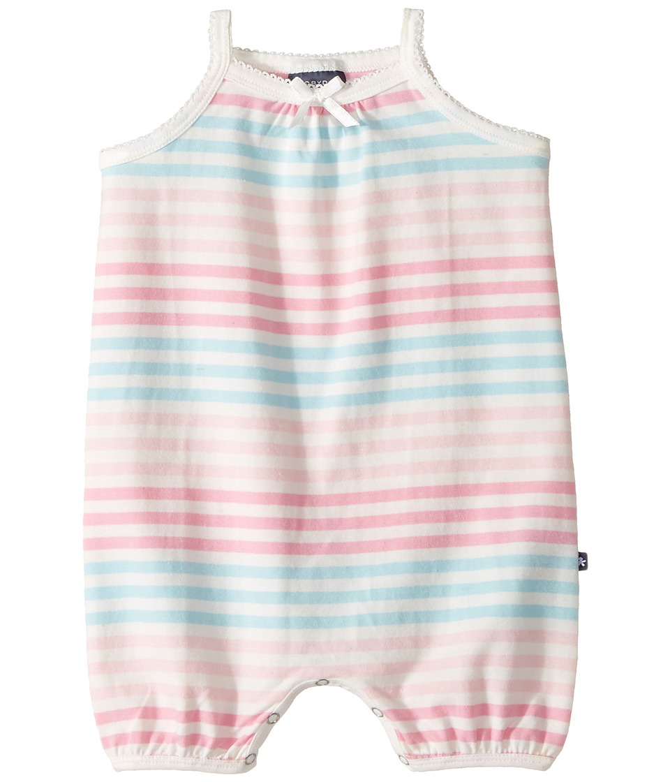 Toobydoo - Cotton Candy Pink Bodysuit (Infant) (Pink/Blue/White) Girl's Jumpsuit & Rompers One Piece