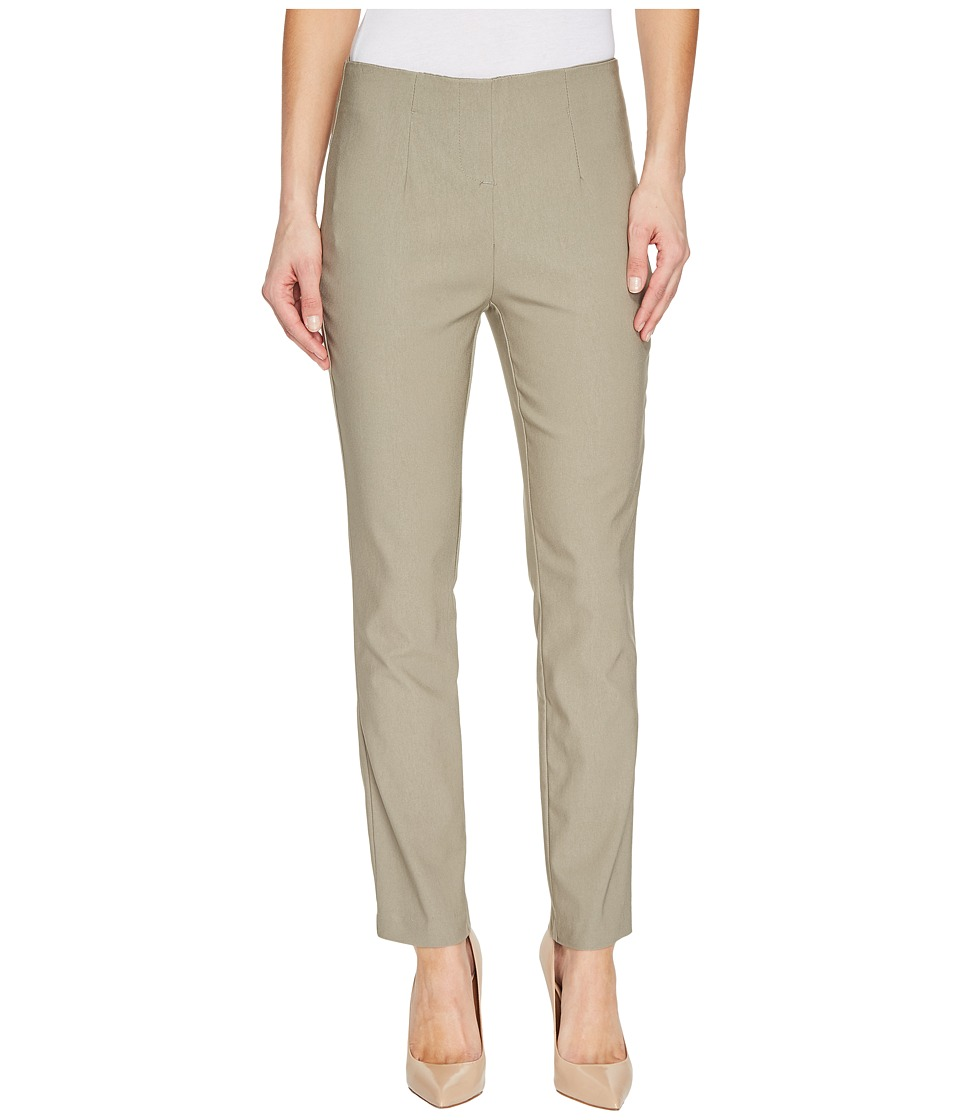 Tribal - Stretch Bengaline 28 Flat Front Ankle Pants (Oak Moss) Women's Casual Pants