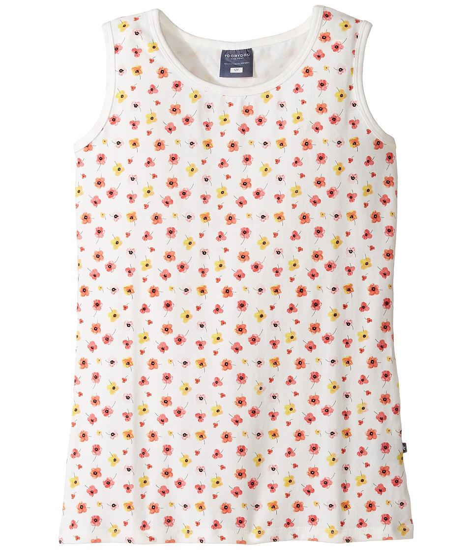 Toobydoo - Floral Tank Top (Toddler/Little Kids/Big Kids) (Floral Pattern) Girl's Sleeveless