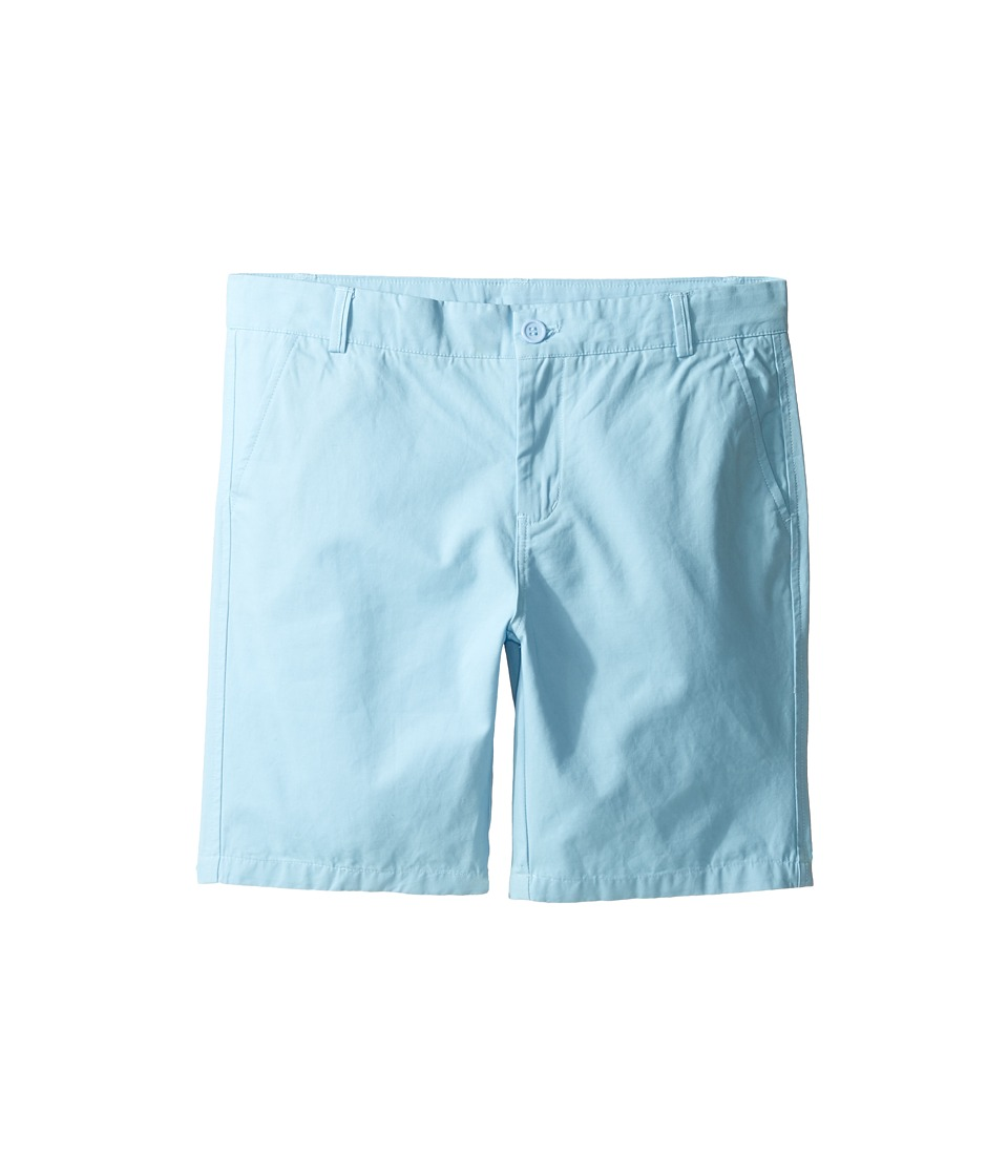 Toobydoo - Woven Cotton Shorts (Infant/Toddler/Little Kids/Big Kids) (Light Blue) Boy's Shorts