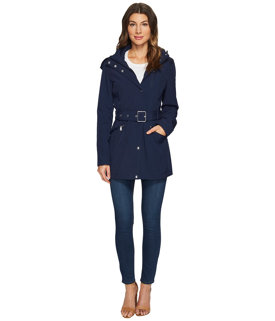 LAUREN Ralph Lauren - Softshell Trench (Regal Navy) Women's Coat