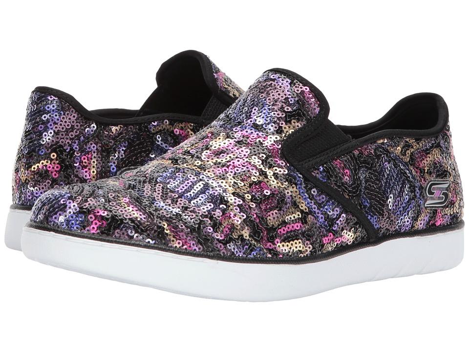 SKECHERS - Millennial - All Out (Black/Multi) Women's Shoes
