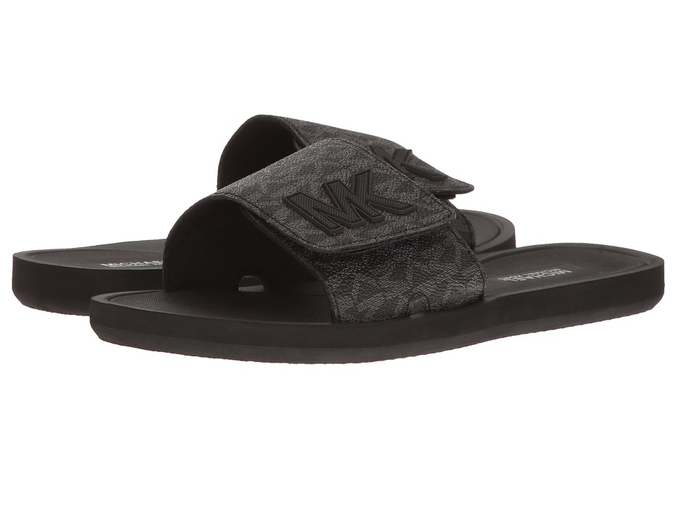 MICHAEL Michael Kors - MK Slide (Black) Women's Shoes