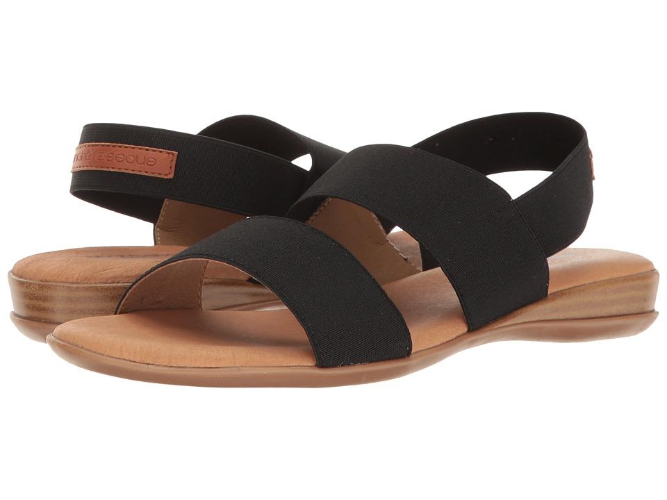Andre Assous - Nigella (Black Elastic) Women's Sandals