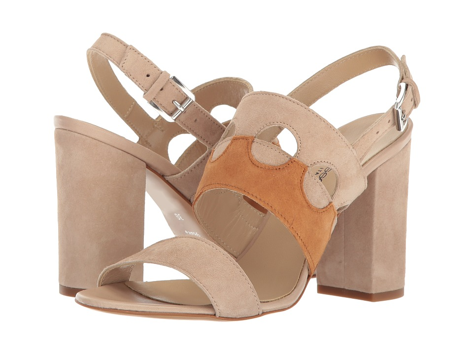 Andre Assous - Fern (Taupe/White Cuero Suede) Women's Sandals