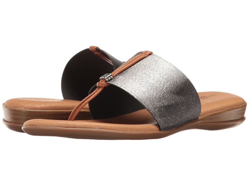 Andre Assous - Nice (Pewter Elastic) Women's Sandals