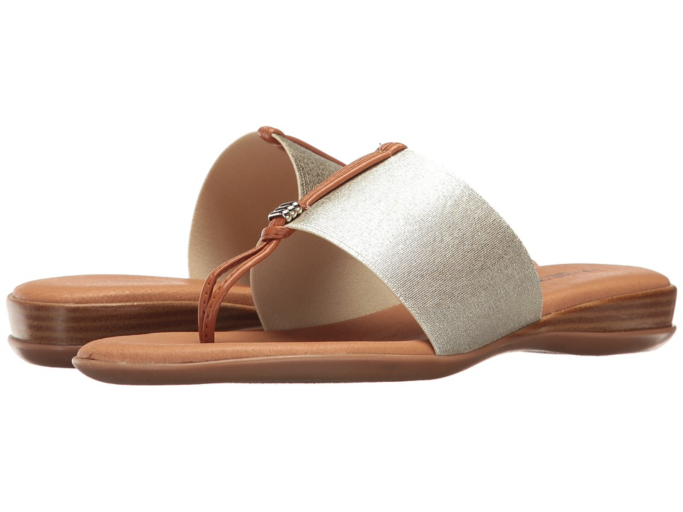 Andre Assous - Nice (Platino Elastic) Women's Sandals