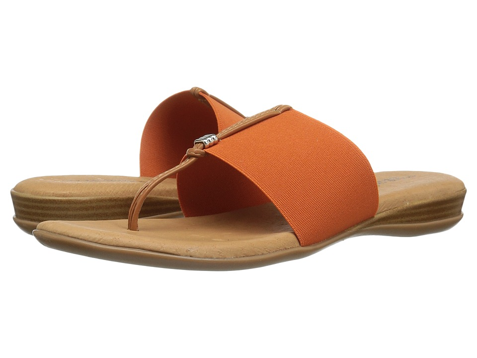 Andre Assous - Nice (Orange Elastic) Women's Sandals