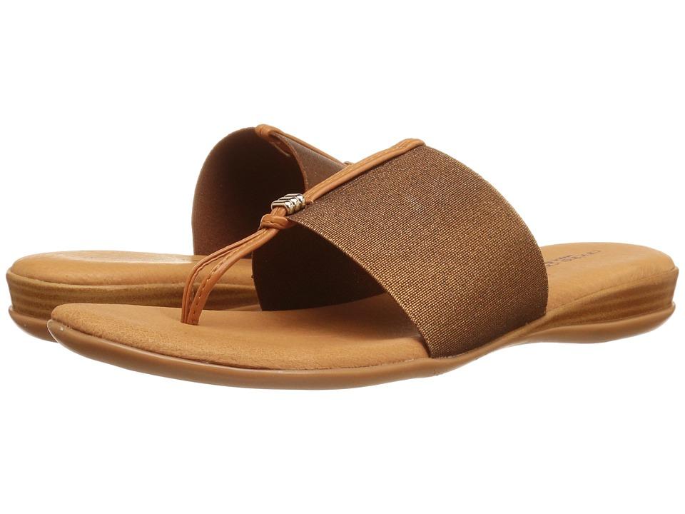 Andre Assous - Nice (Bronze Elastic) Women's Sandals