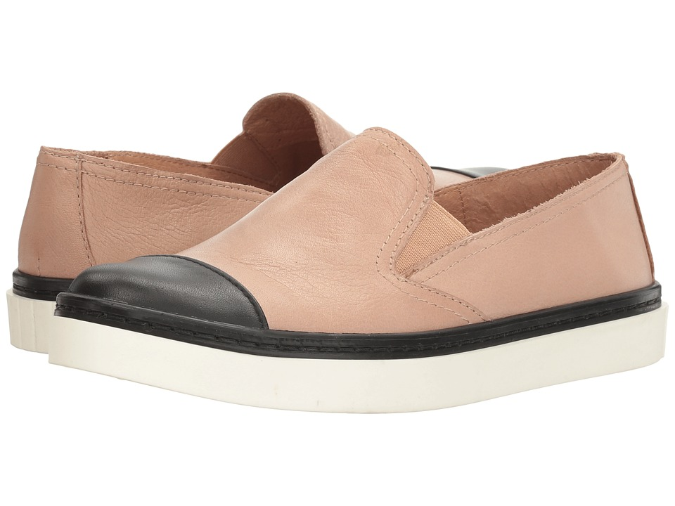 Andre Assous Danielle (Nude/Black Nappa Leather/Nappa Leather) Women