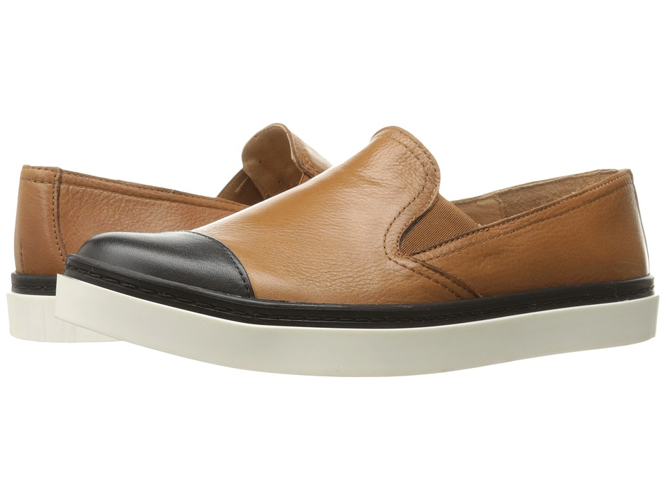 Andre Assous - Danielle (Camel/Black Nappa Leather/Nappa Leather) Women's Shoes