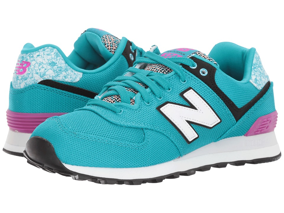 New Balance Classics - WL574 Art School (Pisces/Poisonberry) Women's Shoes