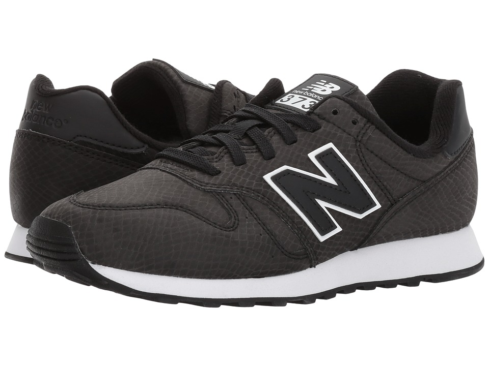 New Balance Classics - WL373 (Black/White) Women's Shoes