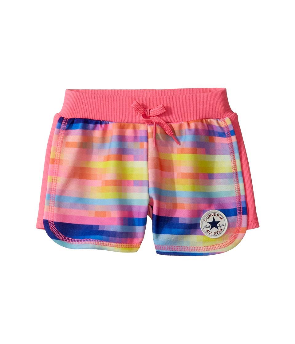 Converse Kids - Printed Knit Shorts (Little Kids) (Gradient) Girl's Shorts