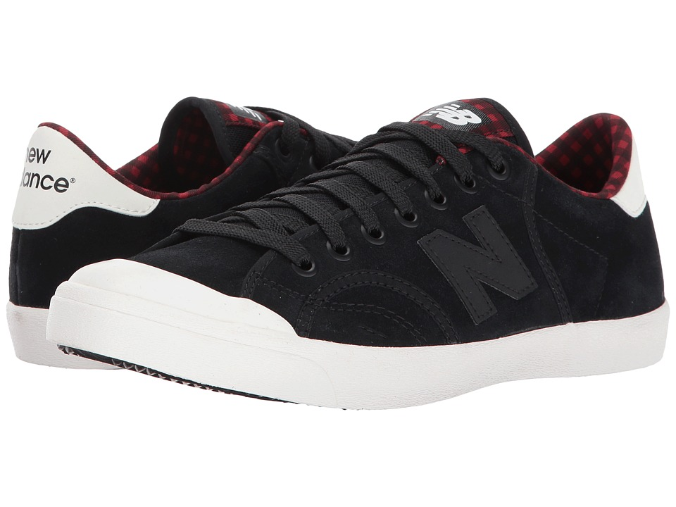 New Balance Classics Pro Court (Black/Tempo Red) Women