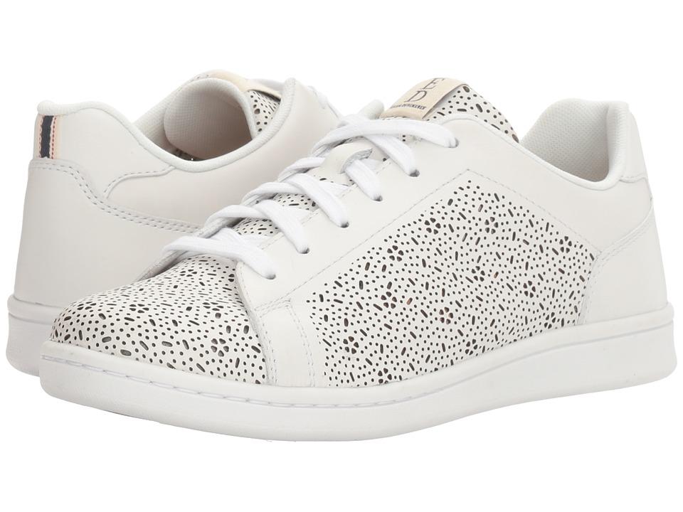 ED Ellen DeGeneres - Chaperf (Pure White Leather) Women's Lace up casual Shoes