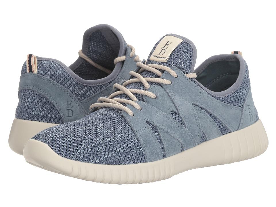ED Ellen DeGeneres - Havala (Bay Blue Mesh Fabric/Suede) Women's Lace up casual Shoes
