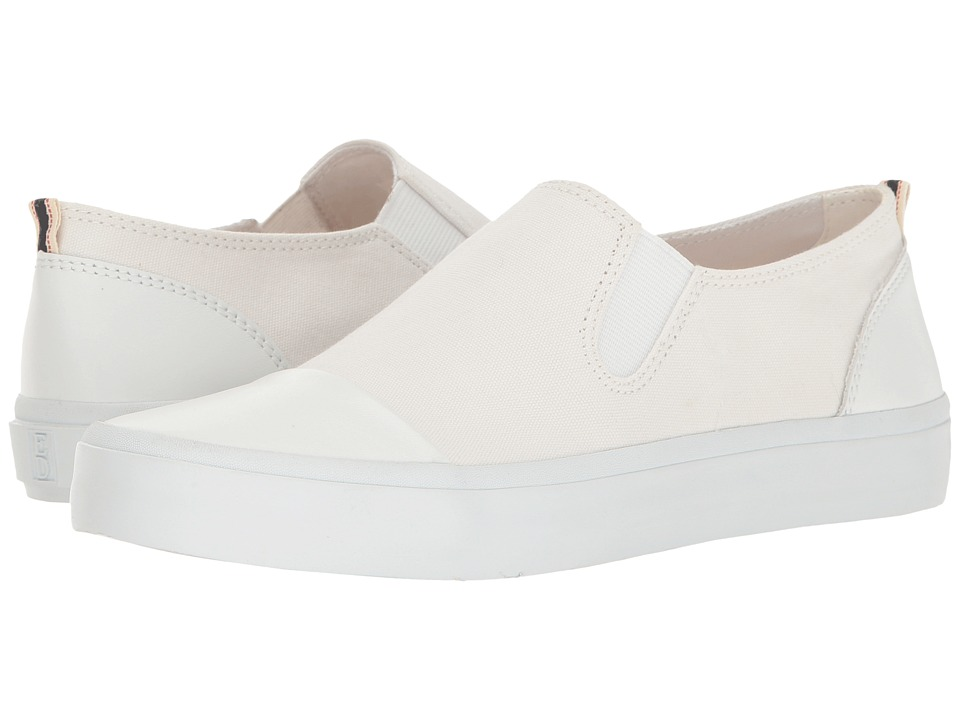 ED Ellen DeGeneres - Darja (Pure White Fabric) Women's Lace up casual Shoes
