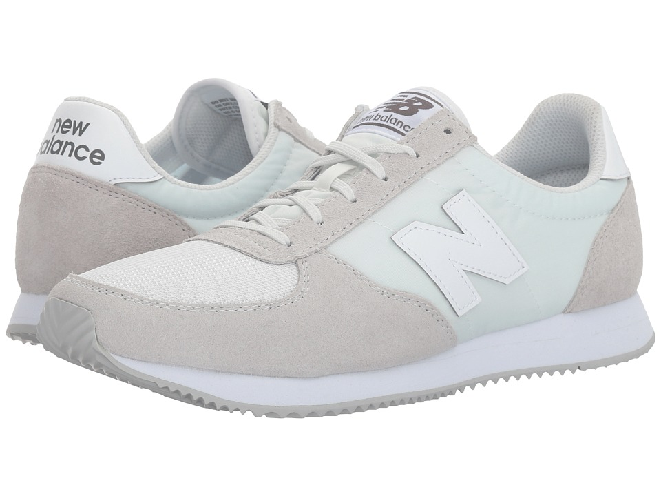 New Balance Classics WL220 Numbus Cloud White Womens Shoes