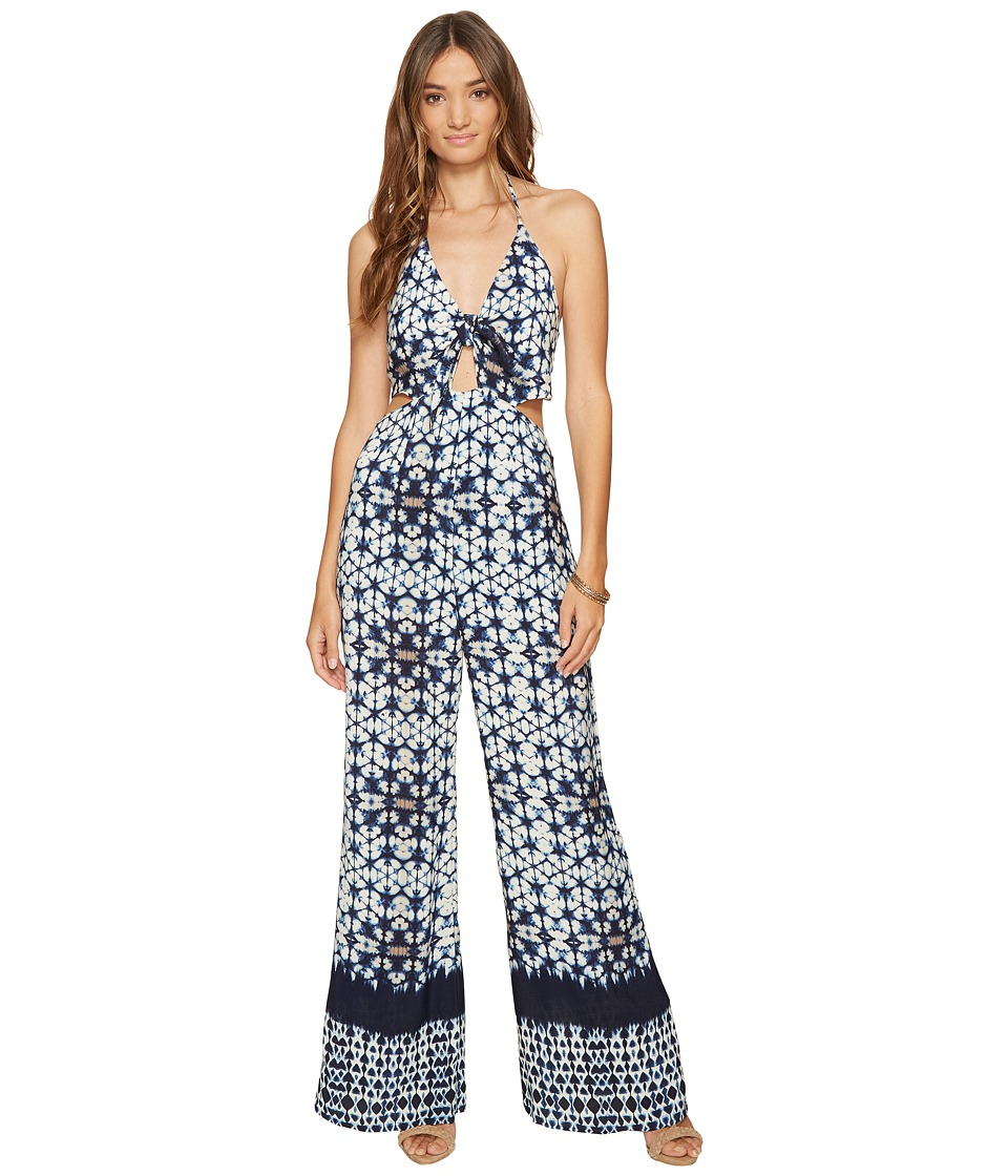 ASTR the Label - Amara Jumpsuit (Indigo Tie-Dye) Women's Jumpsuit & Rompers One Piece