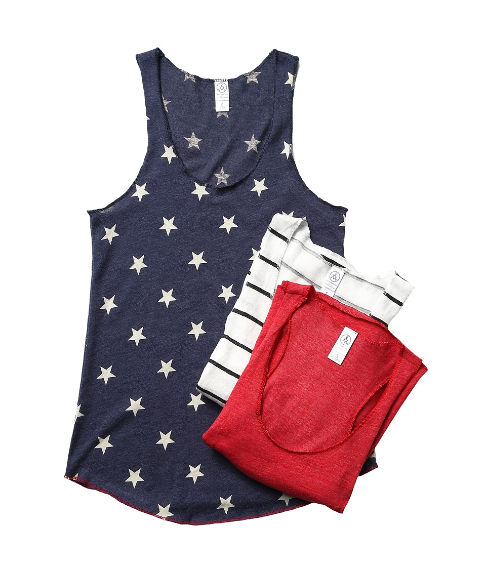 Alternative - The Timeless Tank Bundle (Stars and Stripes) Women's Sleeveless