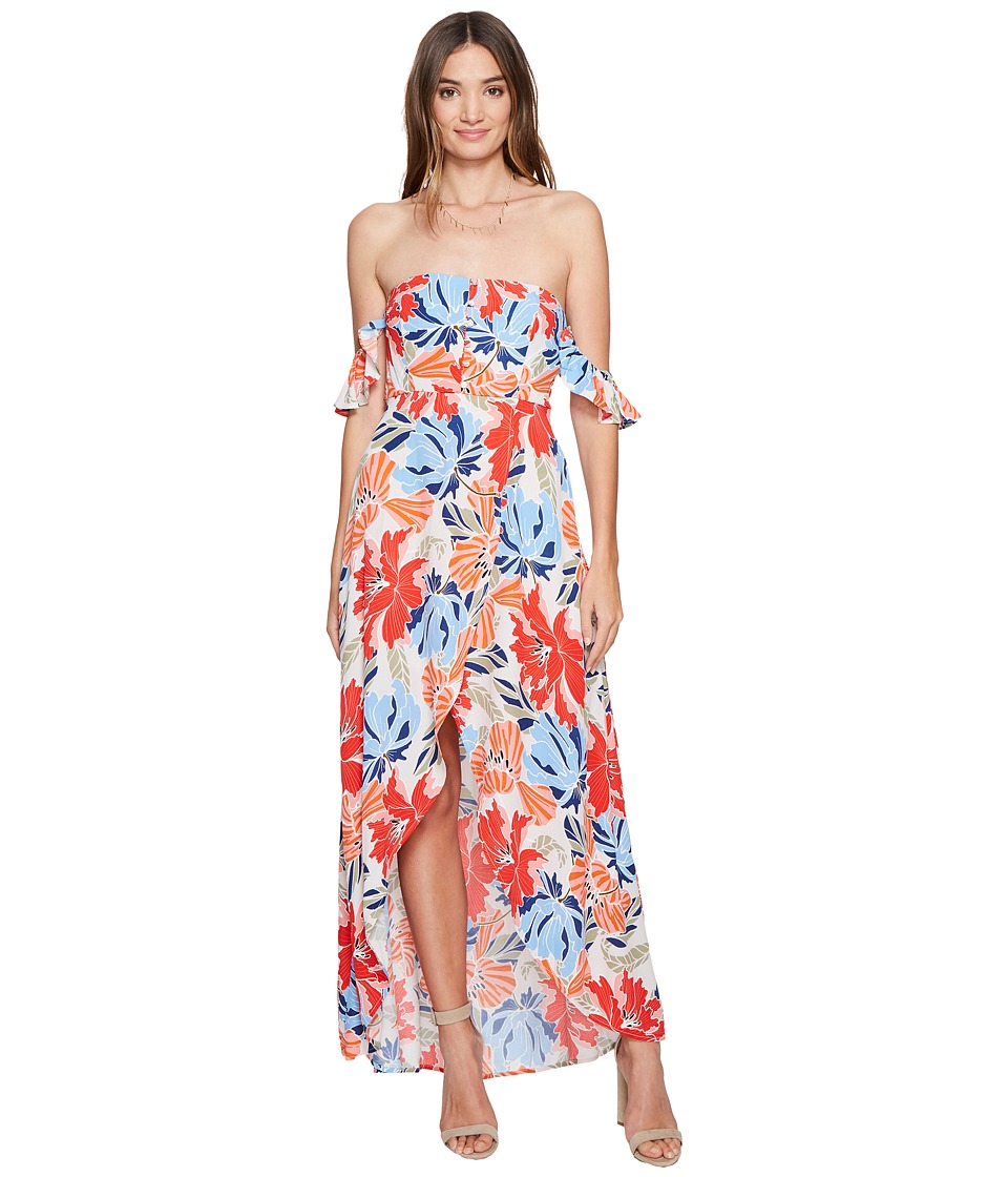 ASTR the Label - Esmeralda Dress (Hibiscus Multi Floral) Women's Dress